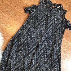 Maddie Cutout-Shoulder Long Dress